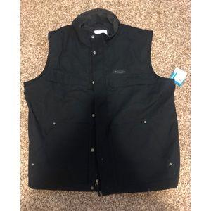 Columbia men's Vest. Navy. XXL. Never worn. NWT.
